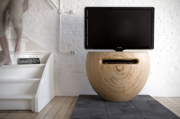Excellent Premium Unique TV Stands Inside Unique Vase Shaped Tv Stand For Modern Interiors Interior Design (View 44 of 50)