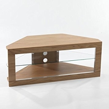 Excellent Series Of 50 Inch Corner TV Cabinets Intended For Large Lcd Plasma Oak Wood Corner Tv Stand Unit Holds Up Amazonco (Image 17 of 50)