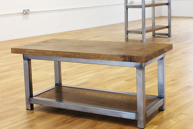 Excellent Series Of Aiden Coffee Tables Regarding Industrial Coffee Table Uk Roselawnlutheran (View 20 of 50)