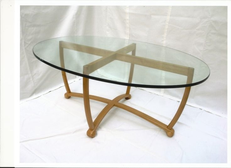 Excellent Series Of Coffee Tables With Oval Shape For Top Incredible Replacement Glass For Coffee Table Oval Glass Table (Image 9 of 50)