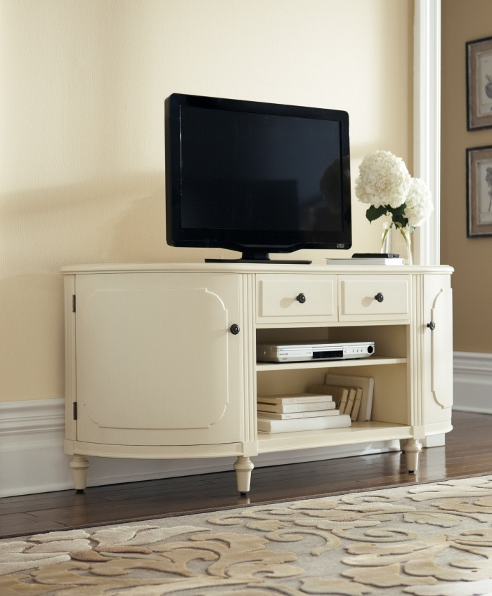 Excellent Series Of Cream TV Cabinets For Bedroom Tv Stands The Different Types You Can Choose From (Image 15 of 50)
