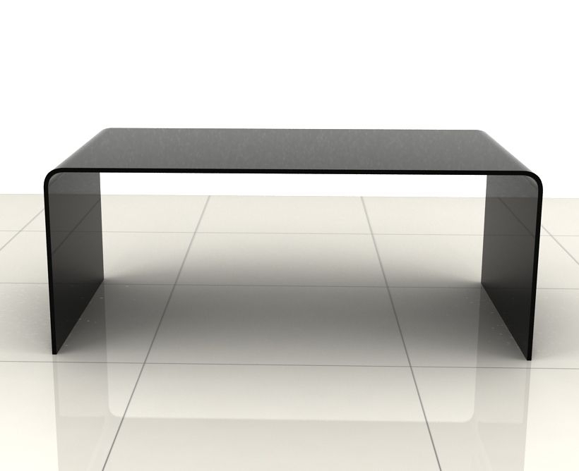 Excellent Series Of Curved Glass Coffee Tables For Black Glass Coffee Table (Image 14 of 50)