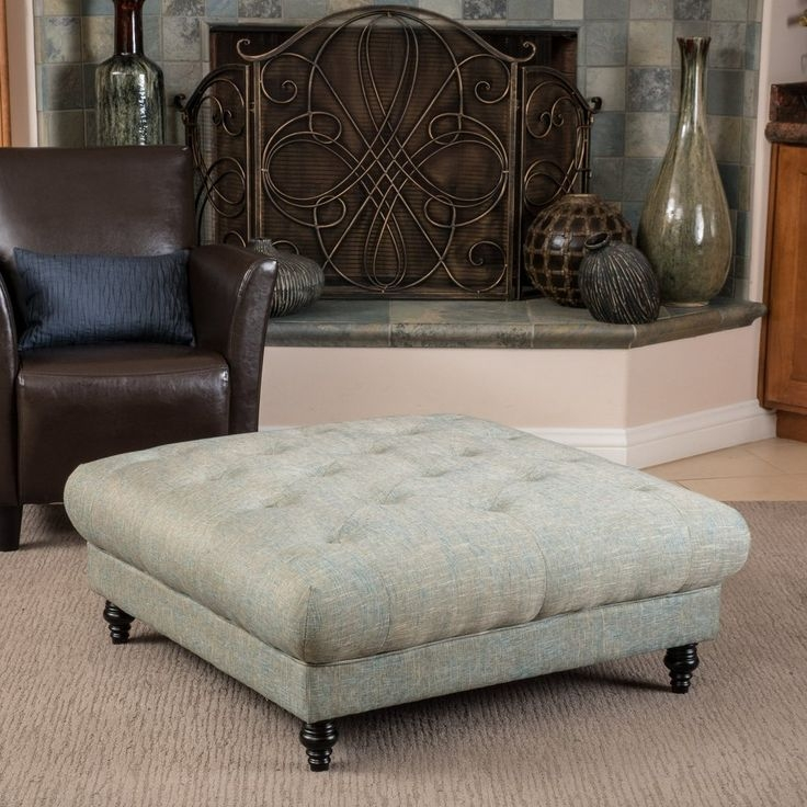 Excellent Series Of Footstool Coffee Tables For Best 25 Fabric Coffee Table Ideas On Pinterest Padded Bench (Image 14 of 40)