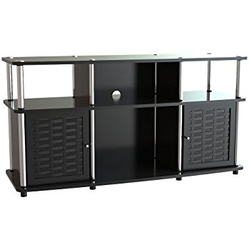 Excellent Series Of Modern Black TV Stands For Amazon Convenience Concepts Designs2go Modern Chelsea Tv (Image 13 of 50)