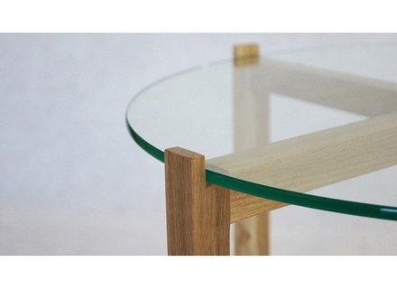 Excellent Series Of Oak And Glass Coffee Tables Pertaining To Solid Glass Coffee Tables Jerichomafjarproject (Image 16 of 50)