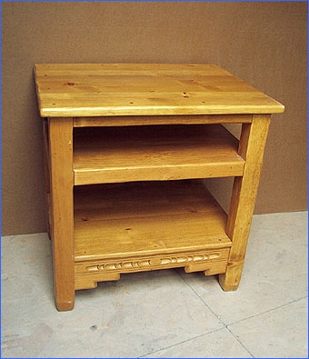Excellent Series Of Pine Wood TV Stands Inside Southwest Curved Flat Screen Tv Stands Cabinets Plasma Lcd Tv (View 34 of 50)
