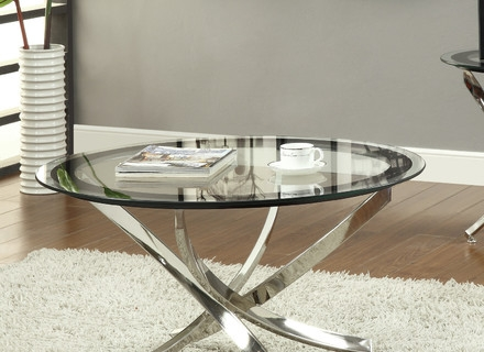 Excellent Series Of Retro Glitz Glass Coffee Tables Throughout Coffee Table Glass Round Coffee Tables Small Round Glass Coffee (Image 13 of 50)