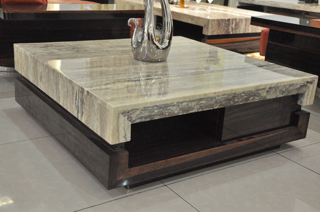 Excellent Series Of Square Stone Coffee Tables In Coffee Table Wonderful Stone Coffee Tables Design Stone Top (Image 11 of 40)