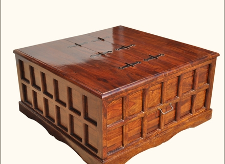 Excellent Series Of Square Storage Coffee Table Within Storage Trunk Coffee Table With Tray Coffee Tables Zone Jericho (Image 19 of 50)