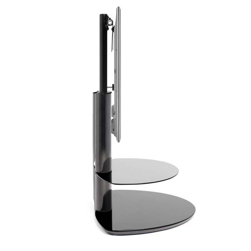 Excellent Series Of Techlink Echo Ec130tvb TV Stands With Regard To Techlink Strata 2 Shelf 50 Inch Corner Tv Stand With Integrated Tv (Image 16 of 50)