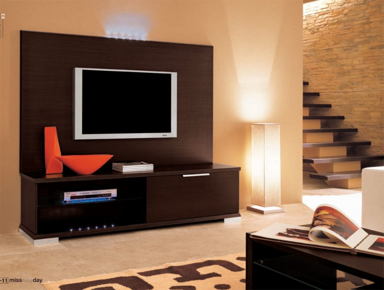 Excellent Series Of TV Cabinets With Storage For Furniture Dark Brown Wooden Wall Mount Tv Cabinets With Storage (View 30 of 50)