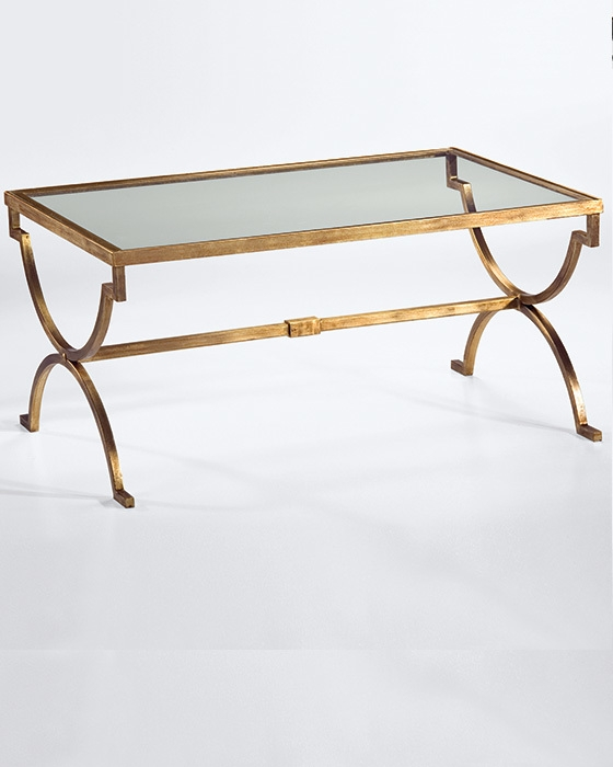 Excellent Series Of Vintage Glass Coffee Tables For Stunning Glass And Gold Coffee Table Elegant Gold Glass Coffee (View 22 of 50)