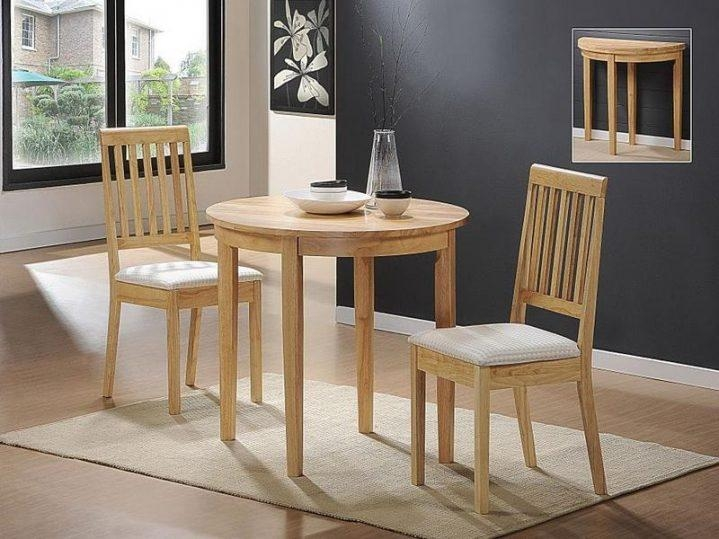 Excellent Small Dining Table With 2 Chairs Small Oak Dining Table Intended For Small Oak Dining Tables (Image 6 of 20)