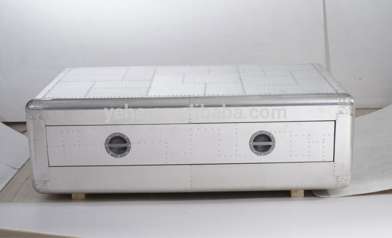Excellent Top Aluminium Coffee Tables Inside Coffee Table Trunk Aluminium Coffee Table Trunk Aluminium (Image 17 of 50)