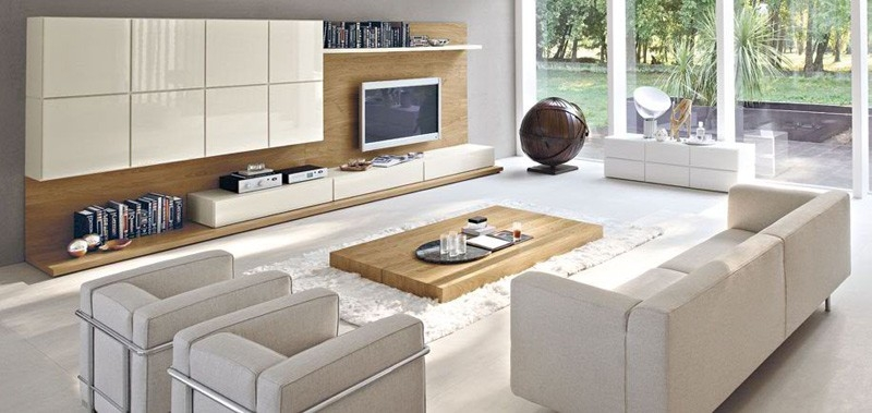 Excellent Top Cream TV Cabinets Throughout Living Room Charming Contemporary Living Room Design Ideas Using (Image 16 of 50)