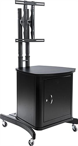 Excellent Top Lockable TV Stands For Tv Stand With Locking Cabinet Holds 1 32 To 65 Screen (Image 16 of 50)