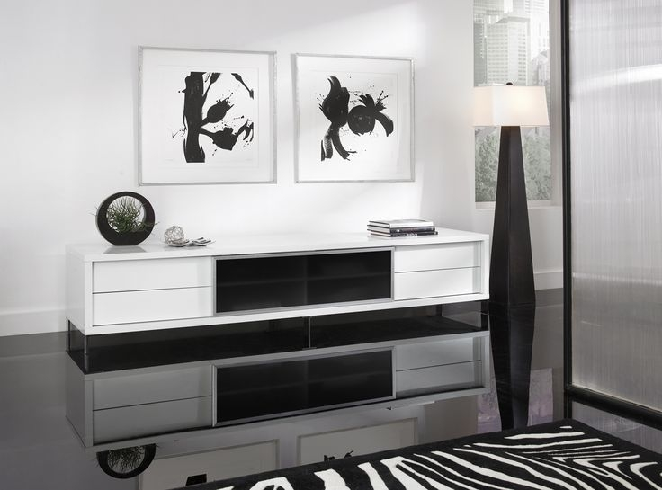 Excellent Top Modern White Lacquer TV Stands In 36 Best Tv Stand Images On Pinterest Tv Stands Tv Cabinets And (Image 14 of 50)