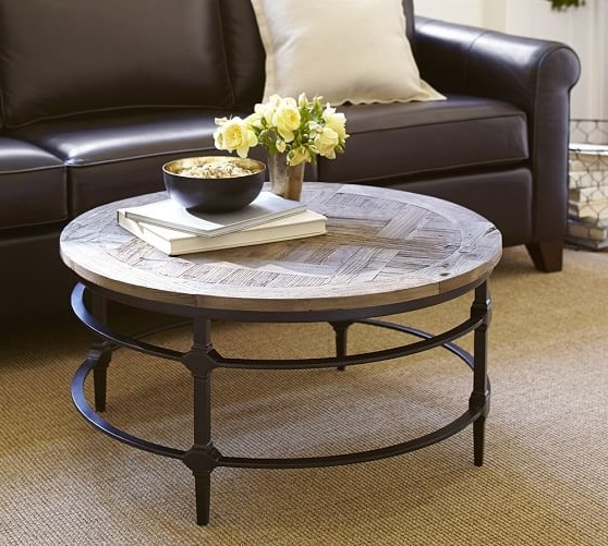 Excellent Top Reclaimed Wood And Glass Coffee Tables Regarding Modern Round Coffee Table Round Table Glass Our Designs Modern (View 28 of 50)