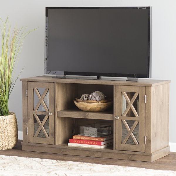 Excellent Top Red Gloss TV Stands Within 50 59 Inch Tv Stands Youll Love Wayfair (Image 19 of 50)