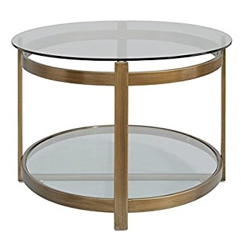 Excellent Top Retro Glitz Glass Coffee Tables In Amazon Retro Glitz Contemporary Glass Metal Coffee Table (View 33 of 50)