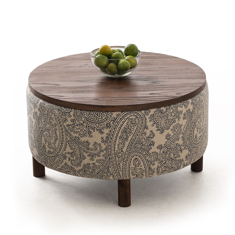 Excellent Top Round Storage Coffee Tables With Regard To Aliexpress Buy Simple Wooden Coffee Table Circular Storage (View 30 of 50)