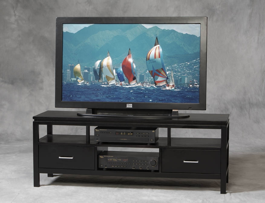 Excellent Top TV Stands For Plasma TV Within Linon Sutton Plasma Tv Stand 84026blk 01 Kd U (Image 17 of 50)