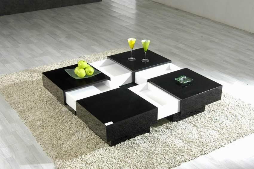 Featured Image of White And Black Coffee Tables