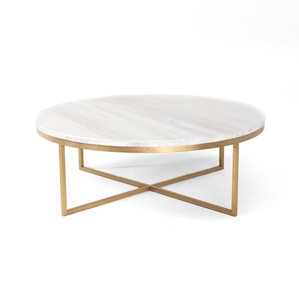 Excellent Top White Circle Coffee Tables Pertaining To 25 Best Round Coffee Tables Ideas On Pinterest Round Coffee (Image 12 of 50)