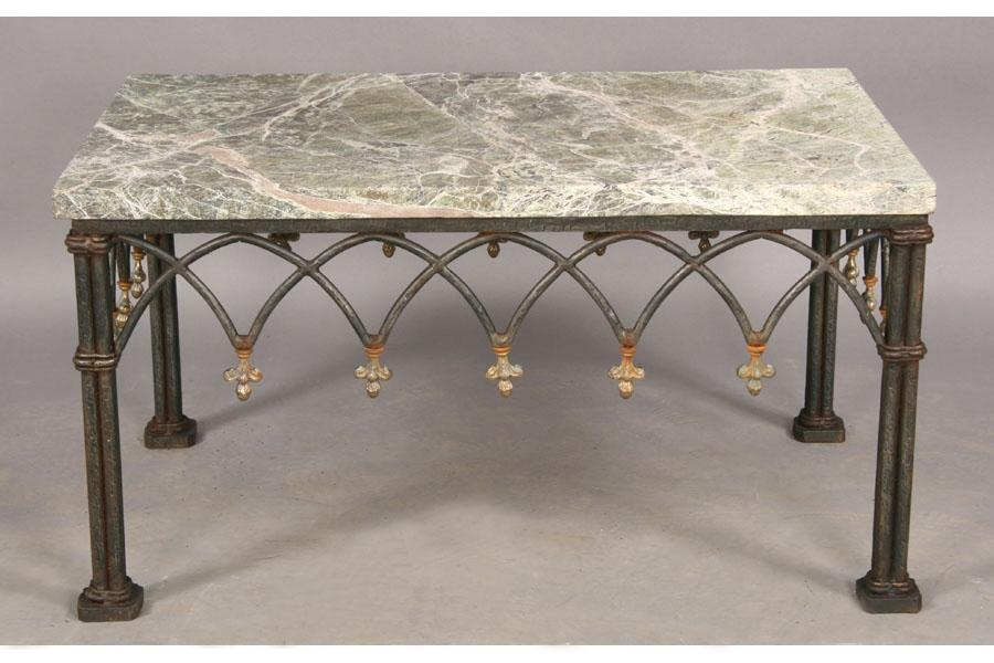 Excellent Top Wrought Iron Coffee Tables For Granite Coffee Table Zuo Sand Beach Coffee Table In Gray With (View 21 of 50)