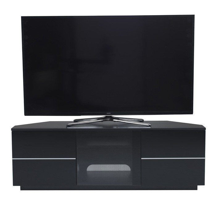 Excellent Trendy Black TV Cabinets For Cf New Milan Black Tv Cabinet (Image 12 of 50)