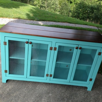 Excellent Trendy Blue TV Stands Intended For Best Distressed Tv Stand Products On Wanelo (Image 14 of 50)