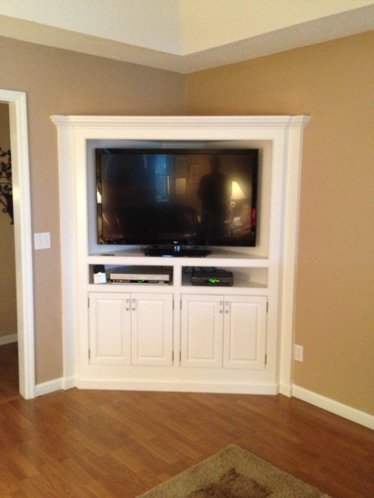 Excellent Trendy Corner TV Stands For 46 Inch Flat Screen Inside Best 25 Corner Tv Stand Ideas Ideas On Pinterest Corner Tv (Image 15 of 50)
