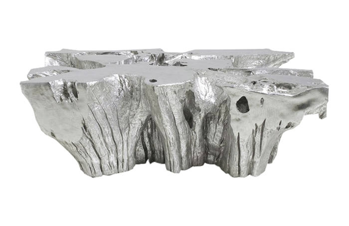 Excellent Trendy Free Form Coffee Tables Pertaining To Venice Freeform Coffee Table Silver Leaf Ph (Image 16 of 40)