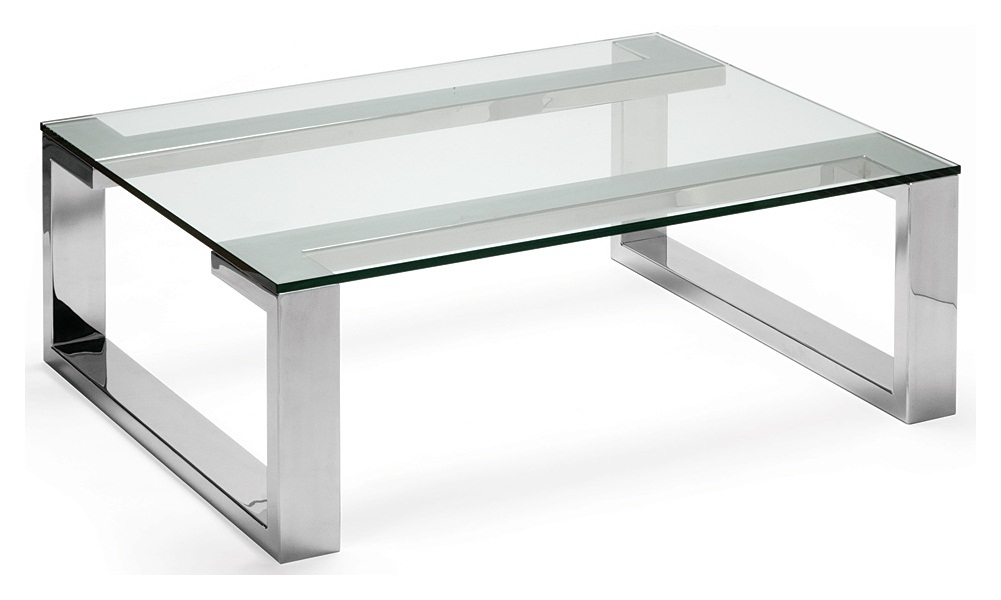 Excellent Trendy Glass Steel Coffee Tables In Glass And Wood Coffee Table Modern Table And Estate (Image 16 of 50)