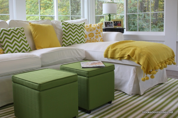 Excellent Trendy Green Ottoman Coffee Tables Throughout Lime Green Storage Ottoman (Image 17 of 50)