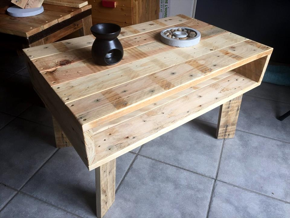 Excellent Trendy Kids Coffee Tables Inside Mini Pallet Coffee Table Or Kids Study Desk 99 Pallets (Image 19 of 50)