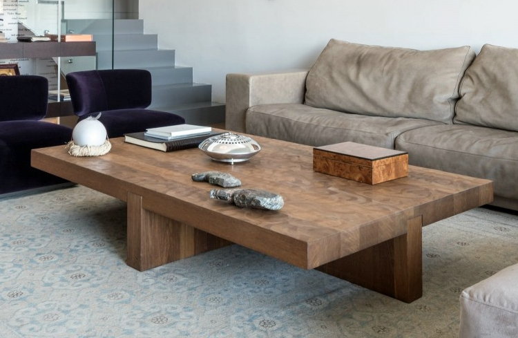 Excellent Trendy Large Wood Coffee Tables Inside Large Wooden Coffee Table Perfect Square Coffee Table For Foosball (Image 19 of 50)