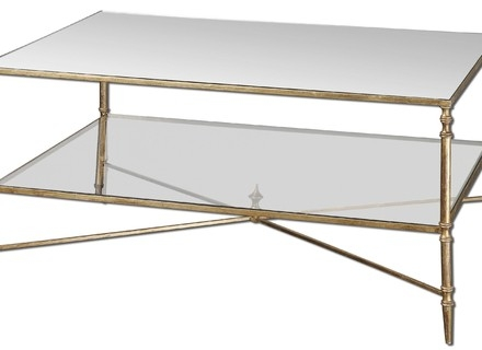 Excellent Trendy Rectangle Glass Coffee Table With Coffee Table Modern Glass Coffee Table Cool White Rectangle (View 16 of 50)