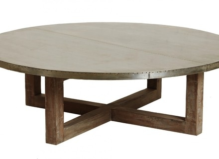 Excellent Trendy Round Glass And Wood Coffee Tables In Round Wood Coffee Table Jerichomafjarproject (Image 15 of 50)