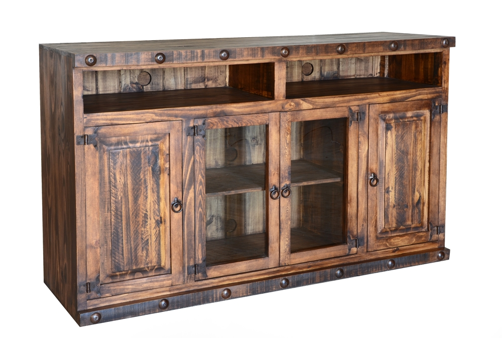 Excellent Trendy Rustic 60 Inch TV Stands With Regard To Lr Tvs 31 The Rustic Mile (Image 9 of 50)