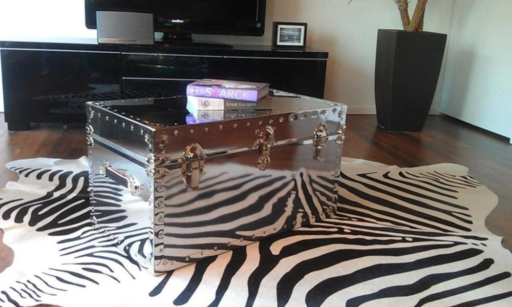 Excellent Trendy Stainless Steel Trunk Coffee Tables In Stainless Steel Coffee Table Tables Trunk Thippo (View 31 of 50)