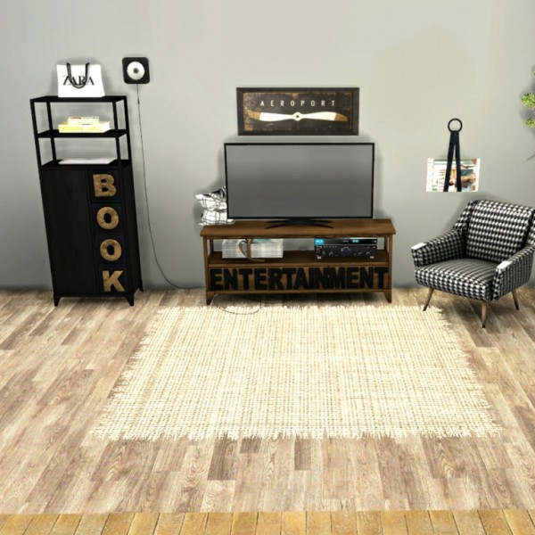 Excellent Trendy TV Stands And Bookshelf Intended For Leo 4 Sims Tv Stand And Bookshelf Sims 4 Downloads (Image 13 of 50)