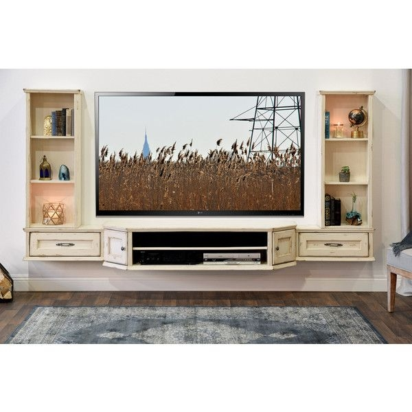 Excellent Trendy Wall Mounted TV Stands Entertainment Consoles With Best 25 Floating Entertainment Center Ideas On Pinterest (View 22 of 50)