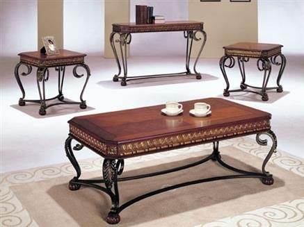 Excellent Unique Cherry Wood Coffee Table Sets In 91 Best Coffee Table Sets Images On Pinterest (View 43 of 50)