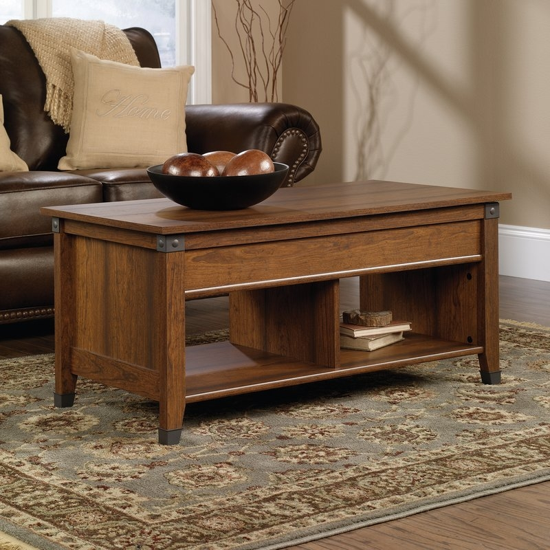 Excellent Unique Coffee Tables With Lifting Top Throughout Loon Peak Newdale Coffee Table With Lift Top Reviews Wayfair (View 47 of 50)