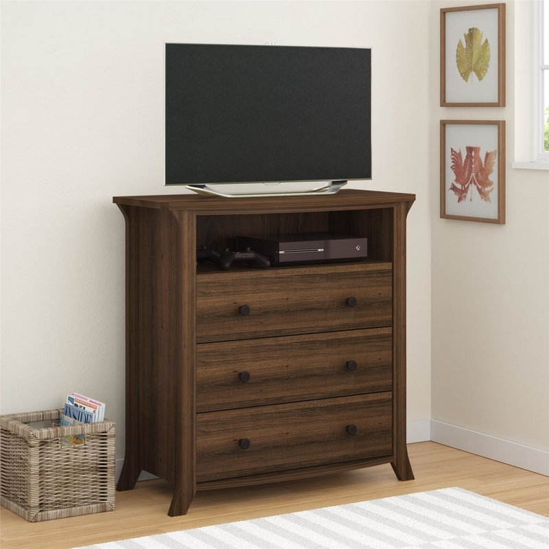 Excellent Unique Dresser And TV Stands Combination With Media Chests Youll Love Wayfair (View 25 of 50)