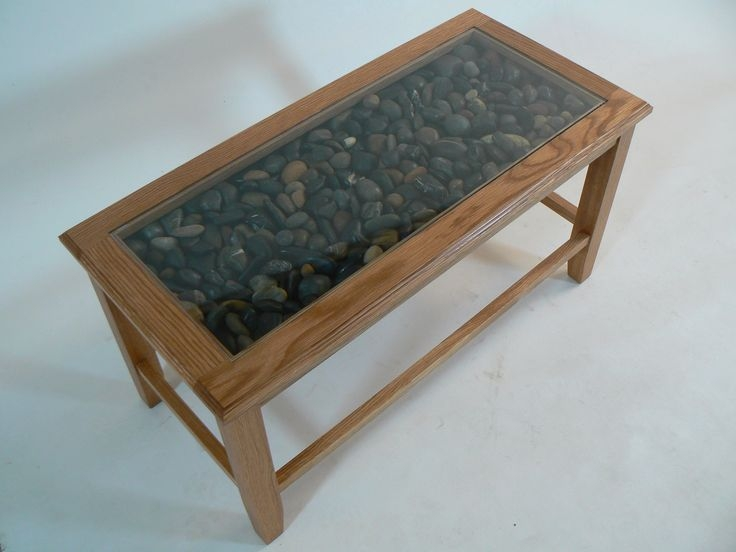 Excellent Unique Glass And Stone Coffee Table With 9 Best Furniture Images On Pinterest (Image 16 of 50)