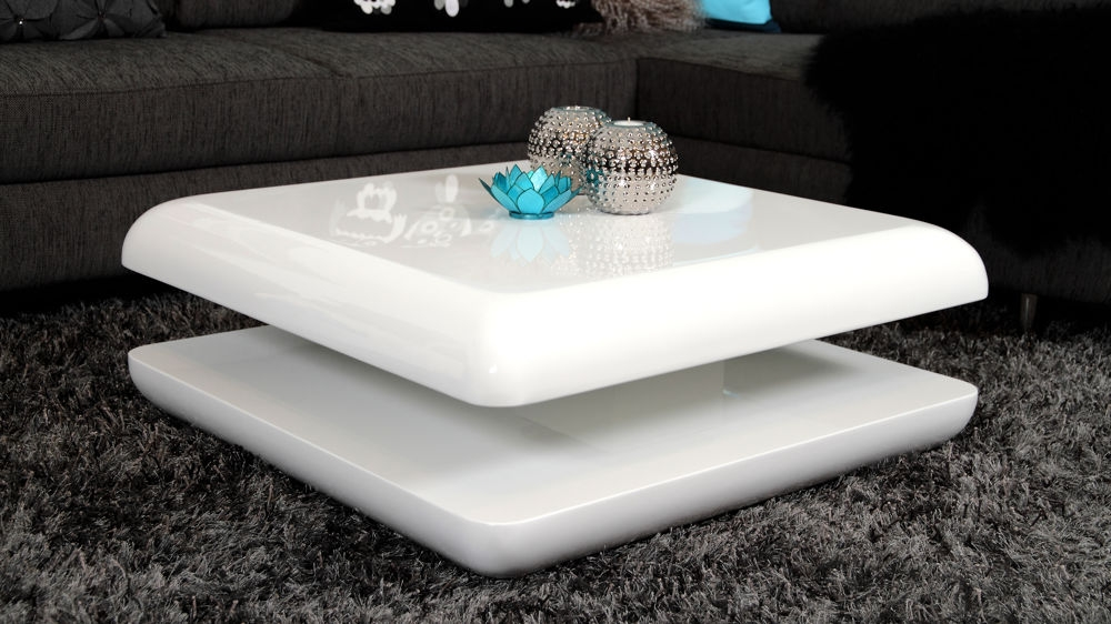 Excellent Unique High Gloss Coffee Tables In Vidaxl Oak White High Gloss Coffee Table White Bank Coffee Table (Image 12 of 40)