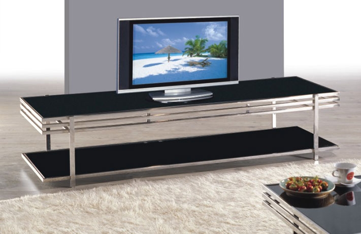 Excellent Unique Long TV Cabinets Furniture Within Joy Furniture Ct8008a Long Tv Stand (View 7 of 50)