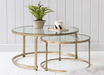 Excellent Unique Retro Glitz Glass Coffee Tables With Regard To Modern Circular Coffee Table Ion Glass Round Coffee Table (Image 15 of 50)